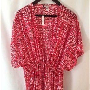 Victoria's Secret Short Red Robe One Size